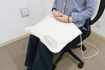 磁気治療器ソーケンリラックスの使用例-足