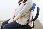 磁気治療器ソーケンリラックスの使用例-腰