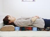磁気治療器ソーケンの使用例-背中・腰