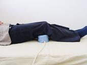 磁気治療器ソーケンの使用例-膝