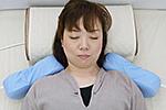 磁気治療器ソーケンの使用例-肩