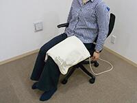磁気治療器ソーケンリラックス使用方法-足5