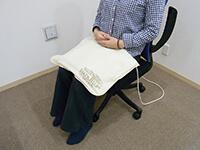 磁気治療器ソーケンリラックス使用方法-足3
