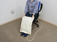 磁気治療器ソーケンリラックス使用方法-足6