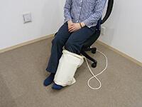 磁気治療器ソーケンリラックス使用方法-足7