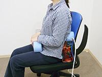 磁気治療器ソーケン使用方法-腹・腰5