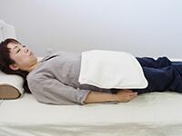 磁気治療器ソーケンリラックス使用方法-腹・腰2