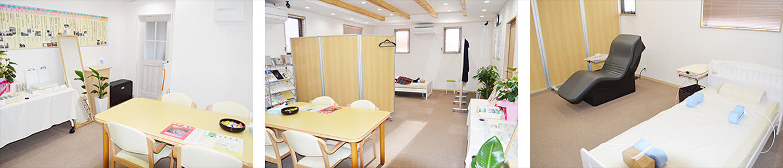 磁気療法を施術する【柏の葉キャンパス磁気治療院】 | 柏の葉キャンパス磁気治療院・院内の様子
