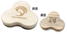 木製さんかく磁石6