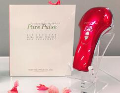 4種類の美容機能を搭載した美容機器。ピュアパルス